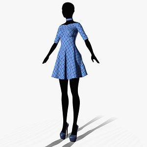 dress 2 3D model