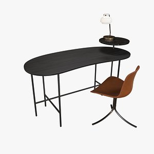 Office Table Colleciton 3D
