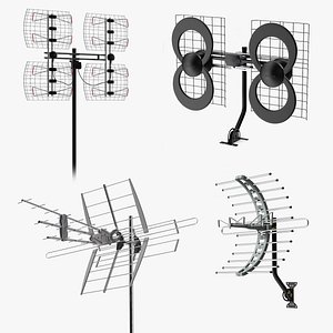 Antennas Collection 3D model