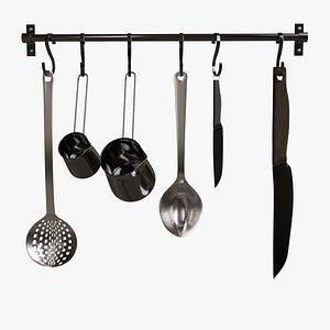 3D Kitchen Utensil Hanger model
