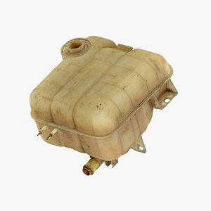 Old Coolant Tank Raw Scanned 3D model
