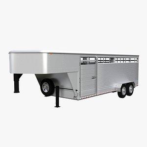 livestock gooseneck trailer model