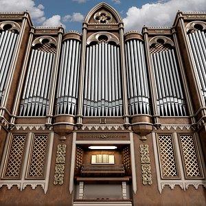 Organ gothic model