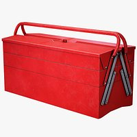 Toolbox Red Game Ready