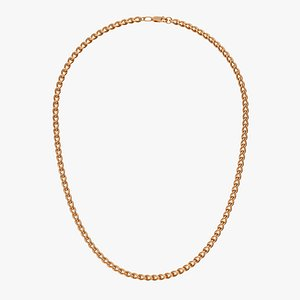 Chain Necklace NL001-1.5 3D model