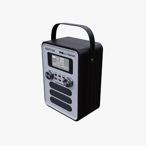 3D BLACKFRIARS Retro Radio Digital