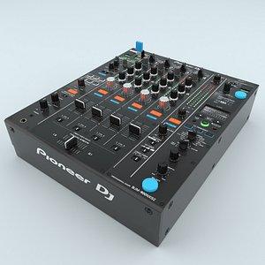 3D Professional DJ Mixer Pioneer DJM 900NXS2 model
