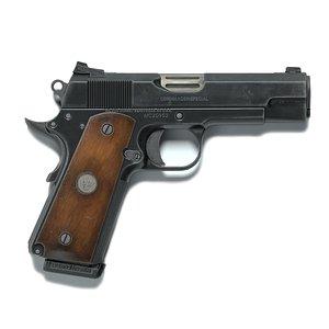 Game ready model Colt M1911 Commander model