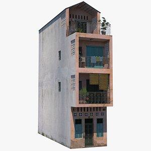 3D model Hanoi Townhouse
