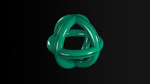 3D spherical abstract ring