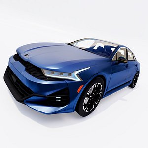 Kia K5 GT line 2021 3D