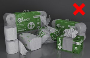 3D toilet paper