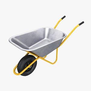 wheelbarrow wheel barrow 3D model