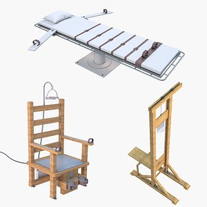3D Execution Equipment Collection