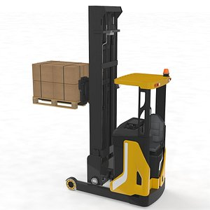 3D reach stacker