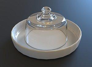 desert dish model