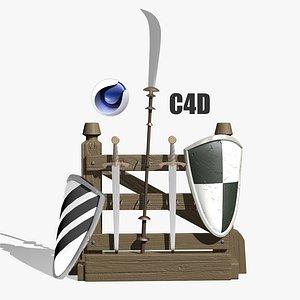 3D model weapon