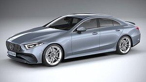 3D Mercedes-Benz CLS AMG 2022 model