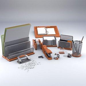 3D office set