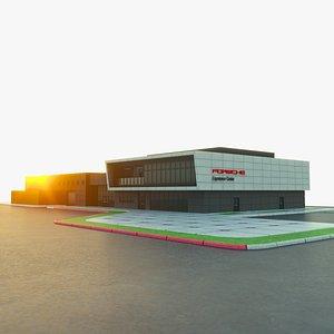 3D model experience center