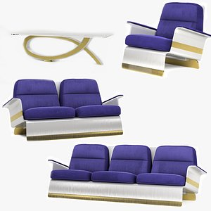 Modern Couch 3D