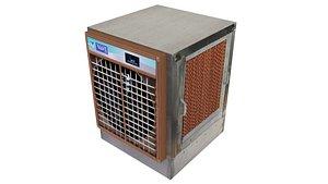 water air cooler 3D