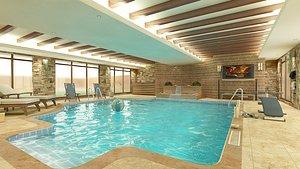 Interior Swimming Pool 3D model