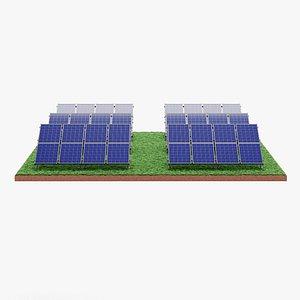 3D Solar Farm 2