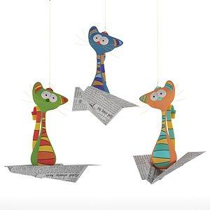 flying cats model