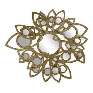 3D petals neapoli mirror model