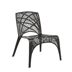 3D Carbon-Fibre chair Marleen Kaptein for Label Breed