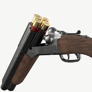 3D ready shotgun