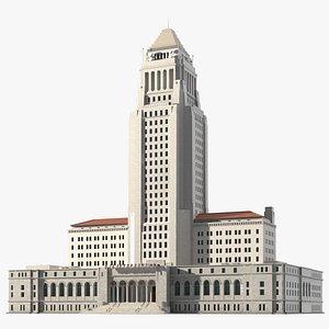 3D Los Angeles City Hall model