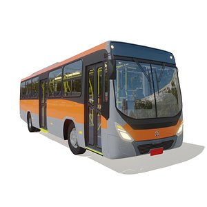 onibus marcopolo torino 3D model