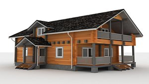 Wood Hause 3D