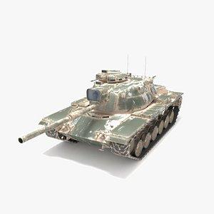 m60 tank 3D
