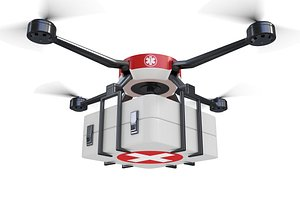 Medical Drone 3D