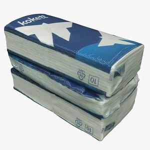 3D Packaging Handkerchiefs 06