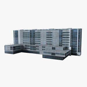 Modern Building 123 3D model