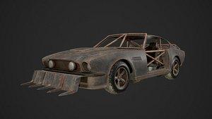 Post Apocalyptic Car model