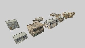 3D Middle East Houses