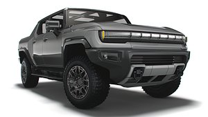 3D GMC HummerEV Edition 1 2022