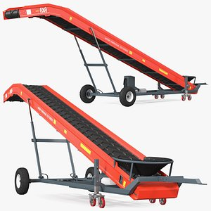 3D Van Trier Miedema Conveyor Belt ME 100 Farmer model