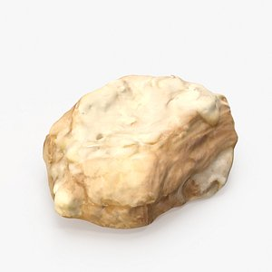 3D chocolate almond croissant