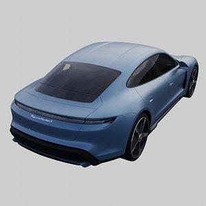 Porsche Taycan Turbo S 3D model
