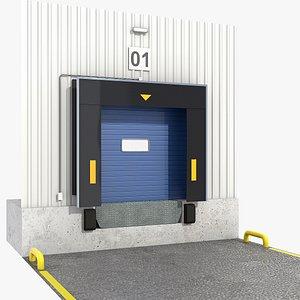 Dock shelter 3D