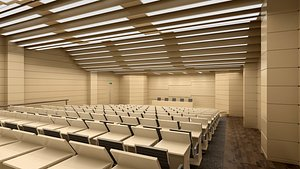 lecture hall 3D