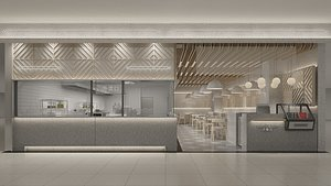 3D New Chinese Style Noodle Restaurant 2