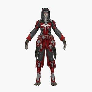 Werewolf V3 3D model