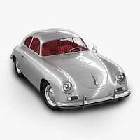 Porsche 356A 1600 Coupe - with engine
